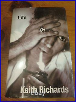 KEITH RICHARDS'LIFE' Signed Autobiography Autographed 2010 ROLLING STONES LIFE