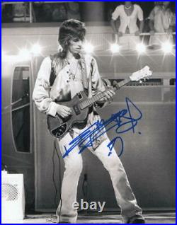 KEITH RICHARDS SIGNED AUTOGRAPHED 11x14 PHOTO THE ROLLING STONES GUITAR, YOUNG 2