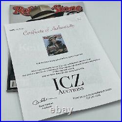 KEITH RICHARDS STONES signed autographed ROLLING STONE MAGAZINE ICZ COA