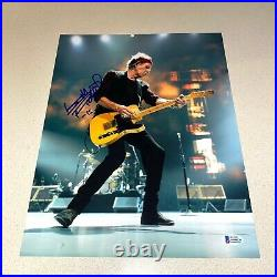 KEITH RICHARDS signed autographed 11X14 THE ROLLING STONES BECKETT LOA AA00236