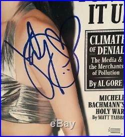 Katy Perry Hot Sexy Signed Autograph Rolling Stone Magazine Signature Rare