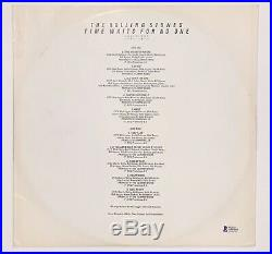 Keith Richards Autographed Rolling Stones vinyl Album Sleeve signed Beckett BAS
