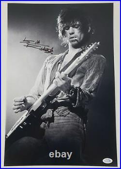 Keith Richards Autographed Signed 12x18 Photo Rolling Stones ACOA RACC