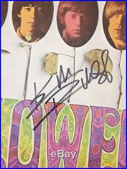 Keith Richards Autographed Signed Rolling Stones Flowers Lp Record Album Rare
