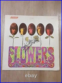 Keith Richards Guitarist Autographed Signed Flowers Rolling Stones Lp Record
