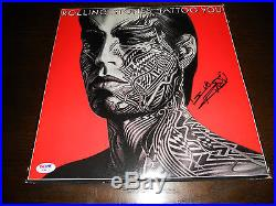 Keith Richards Rolling Stones Signed Autographed LP Cover Photo PSA Certified
