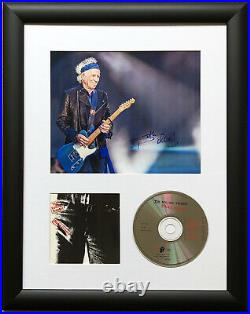 Keith Richards / Rolling Stones / Signed Photo / Autograph / Framed / COA