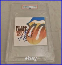Keith Richards Signed / Autographed Rolling Stones Forty Licks CD PSA/DNA