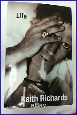 Keith Richards Signed Rolling Stones Autograph COA EXACT PROOF