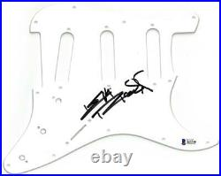 Keith Richards Signed Rolling Stones Autographed Pickguard BECKETT #A61348