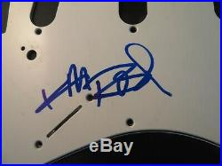 Keith Richards Signed Strat Guitar Pickguard BAS COA LOA Autograph Rolling Stone