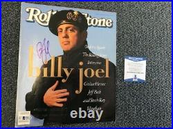 L@@k Billy Joel Signed Rolling Stone Autographed Auto Bas Not Psa Cover #2