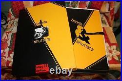 MICHAEL COOPER Blinds & Shutters AUTOGRAPHED Genesis Publications SIGNED Book 2