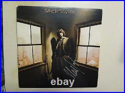 MICK TAYLOR(Of Rolling Stones)Mick Taylor-U. S. LP DJ PCV Autographed By Taylor