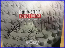 Mick Jagger & Keith Richards Signed Coa + Proof! Rolling Stones Autograph Lp