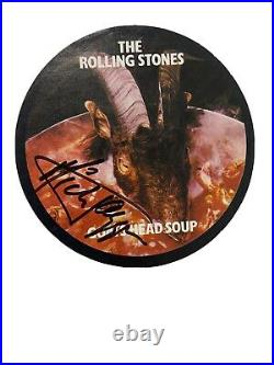 Mick Jagger Signed Autograph Rolling Stones Goats Head Soup Tour Sticker 1973