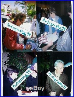 Mick Jagger Signed Lp Coa + Proof! Rolling Stones Autograph Album