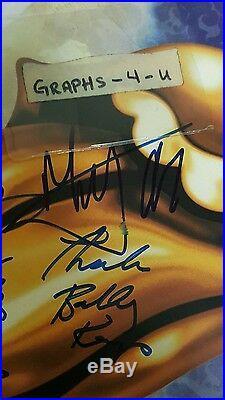 Mick Jagger Signed Rolling Stones Autograph Bobby Keys Lisa Fischer Bernard COA