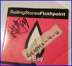 Mick Jagger Signed The Rolling Stones Autograph COA Proof