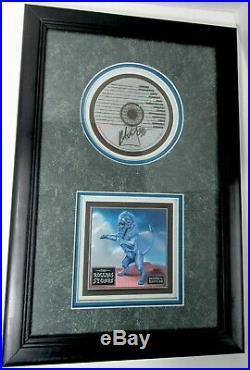 Mick Jagger Signed/autograph Rolling Stones CD Bridges To Babylon Framed