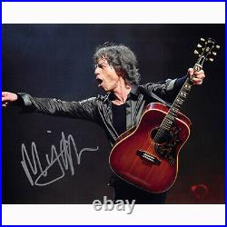 Mick Jagger The Rolling Stones (74707) Authentic Autographed 8x10 + COA