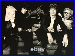 Mick Jagger autographed 8x10 photo, signed, authentic, Rolling Stones, COA