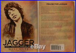 Mick Jagger signiert Rolling Stones Buch Original autograph Signatur Autogramm