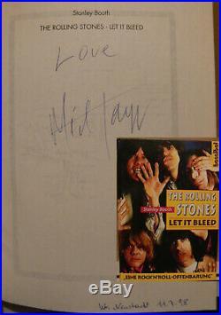 Mick Jagger signiert Rolling Stones signed autograph Signatur Autogramm