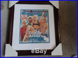 No Doubt autographed 18x20 framed 2002 Rolling Stone Mag Gwen Stefani JSA Cert