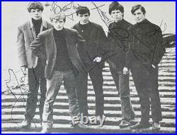 Pop Weekly 1963 Signed Original Rolling Stones-Jagger, Jones, Richards, Wyman, Watts