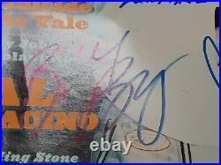 R. E. M. Autographed Signed Rem Rolling Stone Magazine 4 Sigs. Michael Stipe +more