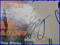 R. E. M. Autographed Signed Rolling Stone Magazine 4 Sigs. Michael Stipe + More