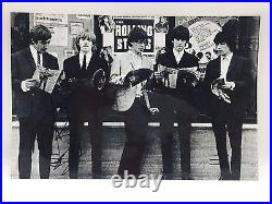 RARE Charlie Watts Rolling Stones Signed Photo + COA AUTOGRAPH MUSIC The Stones