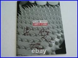 ROLLING STONES MICK, KEITH, CHARLIE and RONNIE SIGNED PROGRAMME AFTAL