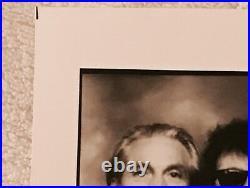 ROLLING STONES Photograph DIMO SAFARI B&W Promo Press Photo SIGNED AUTOGRAPHED