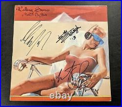 ROLLING STONES signed autographed MADE IN THE SHADE LP RECORD BECKETT LOA (BAS)