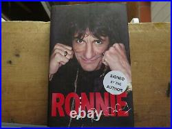 RONNIE WOOD SIGNED Biography THE ROLLING STONES 1st Edition 2007 Autographed