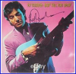 RY COODER Signed Autograph Bop Till You Drop Album Record LP Rolling Stones