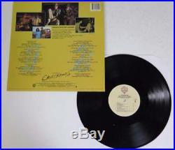 RY COODER Signed Autograph Crossroads Album Vinyl Record LP Rolling Stones
