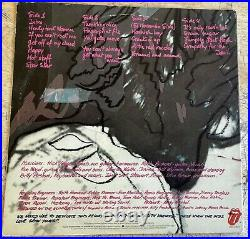 Rare Authentic Rolling Stones Signed Record Cover 5 Autographed Love You Love