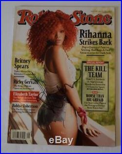 Rihanna Signed Autographed ROLLING STONE Magazine COA VD