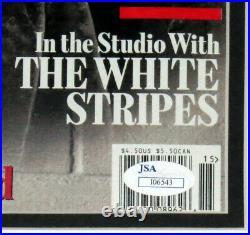 Roger Waters Autographed Rolling Stone Jsa Coa Framed Dark Side Moon Album 32x32