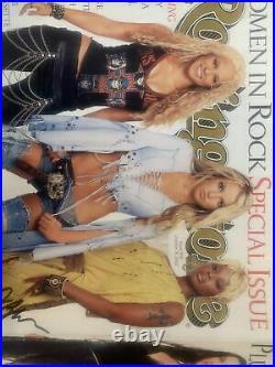 Rolling Stone Magazine Signed X 6 Shakira Britney Avril, Mary J Blieg