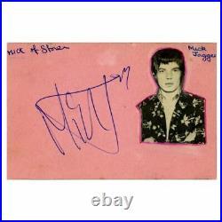 Rolling Stones 1960s Autographs (UK)