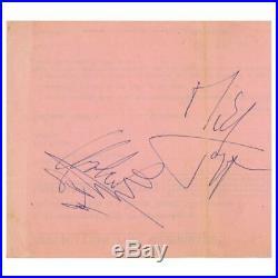 Rolling Stones 1963/1964 Autographs (UK)