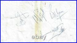 Rolling Stones (1964 Brian Jones) Signed Autographs