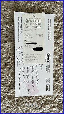 Rolling Stones Autogramm Jagger / Richards / Woods mit CoA Autographs
