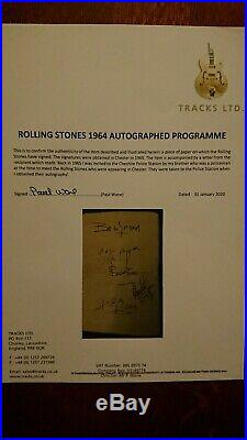 Rolling Stones / Autographs 1965 / 100 % Original