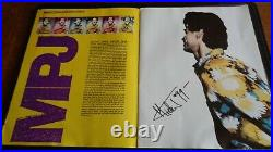 Rolling Stones Autographs Full Band Signed Urban Jungle Tour Programme 1990