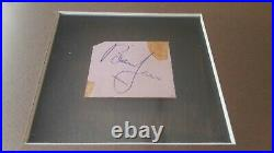 Rolling Stones Brian Jones Jagger Watts signed picture autograph Epperson REAL